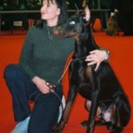 Sandrine otsmane educateur canin et montécristo dobermann
