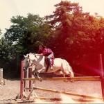 Sandrine Otsmane cavalière, cheval, équitation