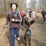 activité canine, activité avec son chien, courrir avec son chien